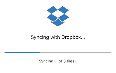 Dropbox allows you to sync between your desktop and your iOS device.