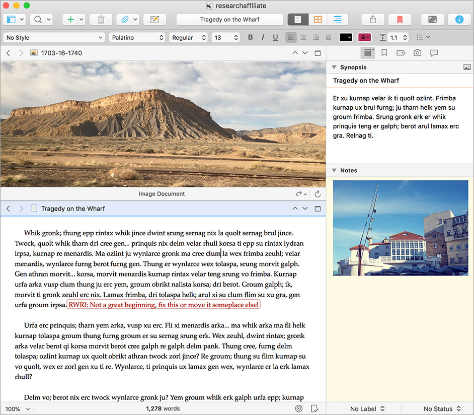 Buy Scrivener 1.x (Regular Licence)