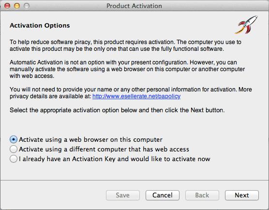 get past software activation key