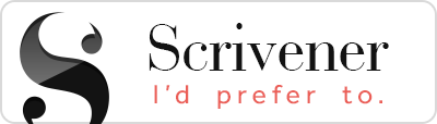 Scrivener: I'd prefer to.
