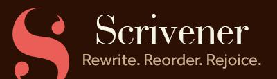 Scrivener: Rewrite, reorder, rejoice.
