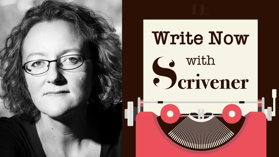Write Now with Scrivener, Episode no. 6: Elizabeth Haynes, Thriller Author
