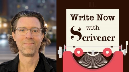 Write Now with Scrivener, Episode No. 5: Christian Cantrell, Sci-Fi Thriller Author