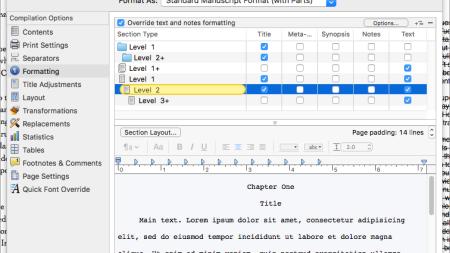 Scrivener 3: Redesigning Compile