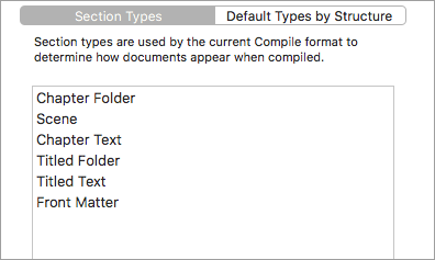 Each Project Template Comes With Some Section Types Set Up For You But Can Change Them To Whatever Want Then Assign Documents