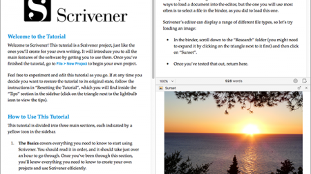 Scrivener 3: Copyholders and Layouts