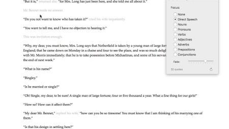 Scrivener 3: Linguistic Focus