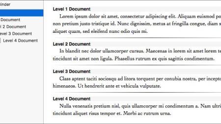 Scrivener 3: Scrivenings Enhancements