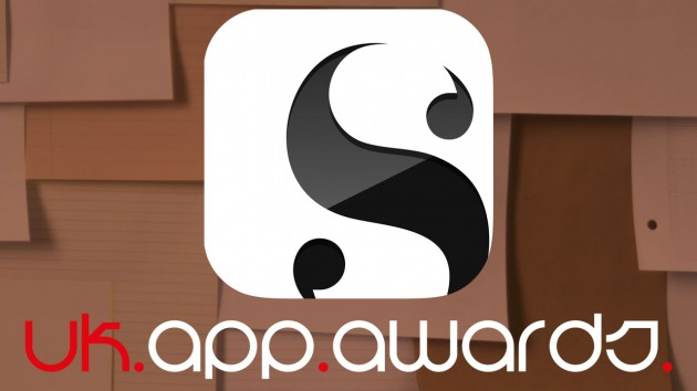 Scrivener for iOS Wins UK App Awards